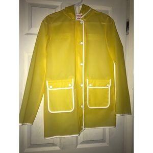 Yellow Hunter raincoat